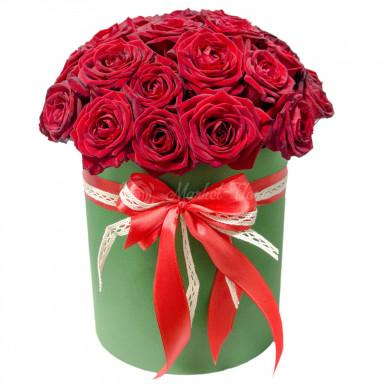 Цветы в коробке «Принцесса София»